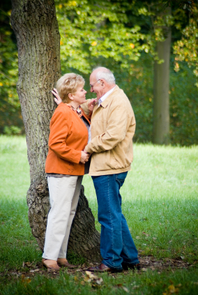 Senior dating partnership
